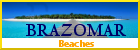 Brazomar, beaches