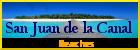 San Juan de la Canal, beaches