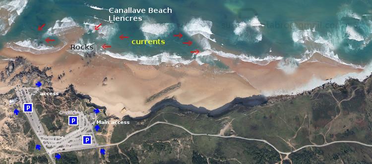 Canallave: access