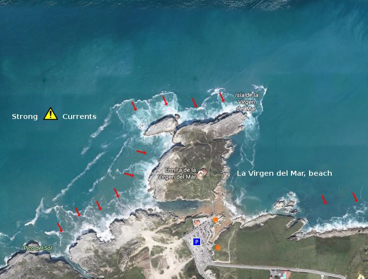 Access: La Virgen del Mar,