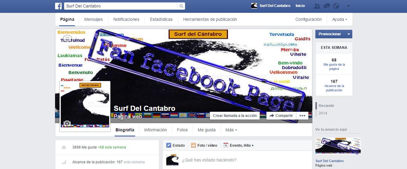 Fan Facebook Page