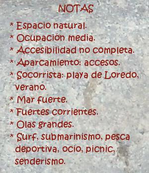 SantaMarina, notas