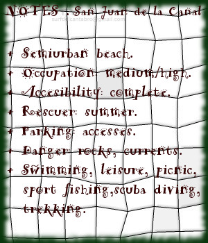 SanJuandelaCanal, Notes
