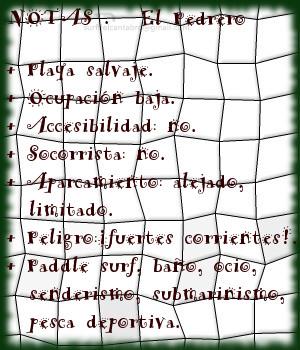 El Pedrero, notas