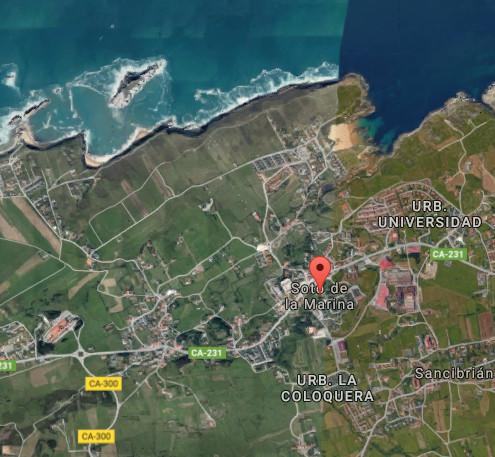 Soto de la Marina. map