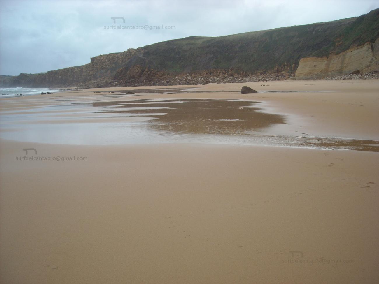 autum low tide