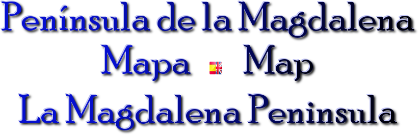 magdalena peninsula  mapa map