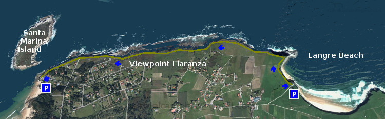 Langre,Santa Marina: Llaranza
