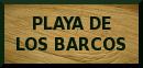 Playa de los Barcos:  beach access
