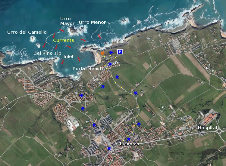 Access Portio Beach