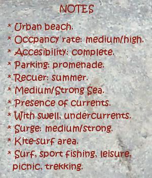 Somo beach, notes