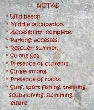 Galizano beach, notes