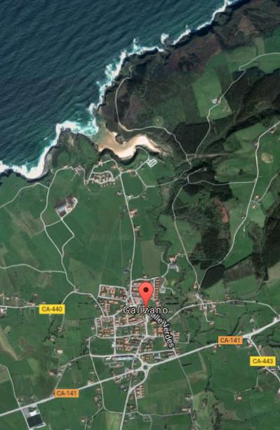 Galizano, villa