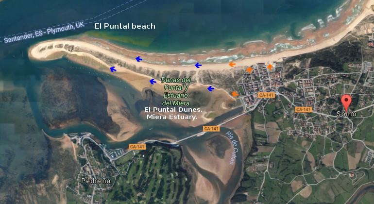 El Puntal, access