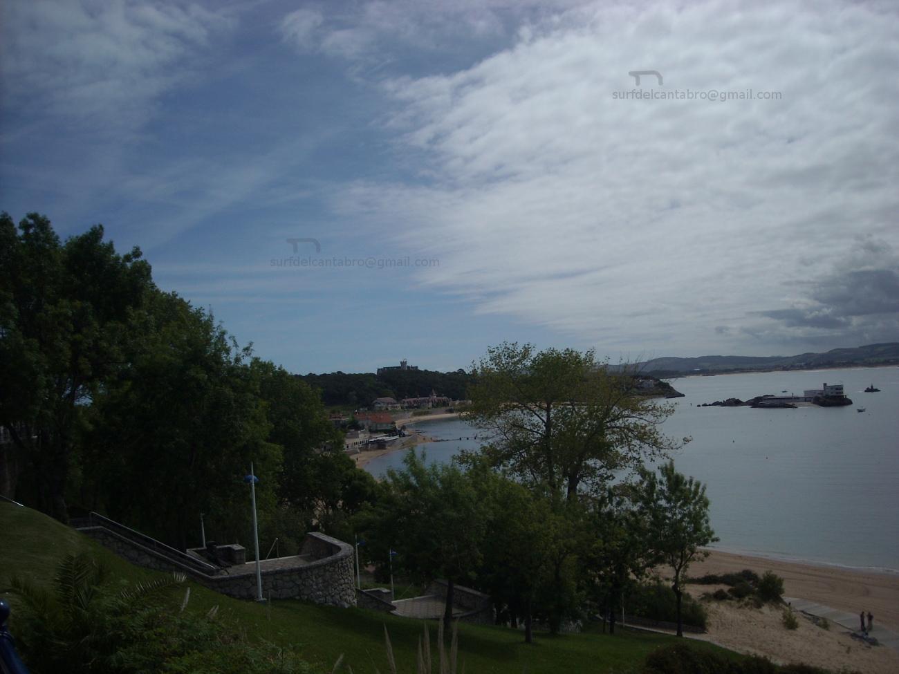 Santander Bay, north side