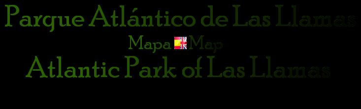 titulo Parque Atlantico de Las Llamas, mapa